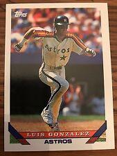 1993 Topps Luis Gonzalez Houston Astros 362