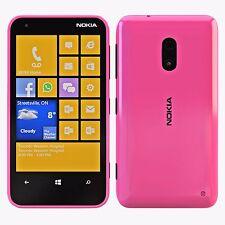 """NOKIA Lumia 620 Smartphone Rosa 3.8"""" 8GB Sbloccato Grado a Ottime"""