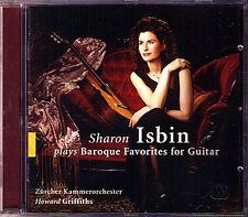 Sharon ISBIN: BAROQUE FAVORITES Bach Vivaldi Albinoni Guitar Concerto Gitarre CD
