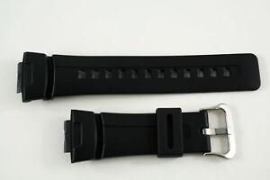 Genuine  Casio Watch Band Strap Rubber  Black G-100 G-101 G-200 G-2310 G-2300