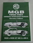 Workshop Manual Repair Manual MG B + Gt, Year of Construction 1968 - 1981