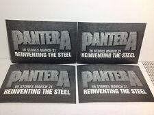 Reinventing The Steel by Pantera 4 Postcards Rare Orig Promo 6x4 Slayer Slipknot