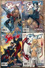 X-TREME X-MEN #20 #21 #22 #23 Marvel 2003 - Schism Storyline -Storm Rogue Bishop