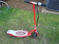 Razor E100 Motorized 24V 10 Mph Rechargeable Electric Scooter - Red