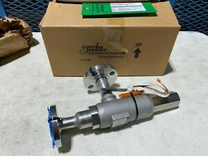 """Curtiss-Wright Series 2700 Pressure Relief Valve 27DA23 3/4""""x1"""", Stainless, NEW"""