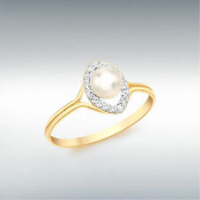 Pearl Statement Fashion Rings