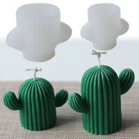 3D Cactus Candle Molds Silicone Soap Mold DIY Craft Resin Plaster Mould Handmade