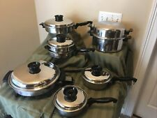 "Townecraft Chef'S Ware Cookware Set W/Liquid Core 13"" Electric Skillet, Pan T304"