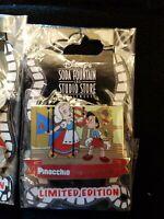 Disney Pin 67917 DSF Pinocchio 70th Anniversary Pinocchio and Dutch Marionet LE