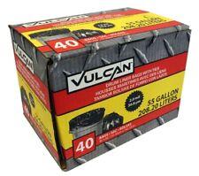 Vulcan Fg-03812-10A Drum Liner 55 gal Capacity 2 mil Thick Poly Black