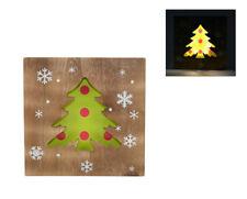 Quadro Natalizio Luminoso Albero di Natale