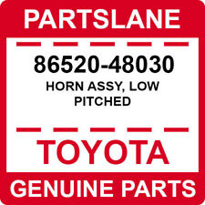 86520-48030 Toyota OEM Genuine HORN ASSY, LOW PITCHED