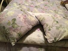 Two 2 Rachel Ashwell Shabby Chic Regent Park Lavender Purple Pillows Lilacs