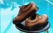 Gucci Men's  $820 Ombre Brown Leather Brogue Oxford Shoes 11 G US Size 12+