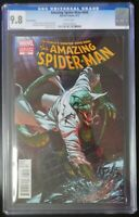 Amazing Spider-Man #690 Marvel Comics CGC 9.8 White Pages Variant Cover