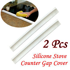2PC Kitchen Silicone Stove Counter Gap Cover Easy Clean Heat-resistant Slit Fill