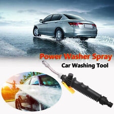 Hydro Jet High Pressure Power Car Washer Water Spray Gun Nozzle Wand Attachment