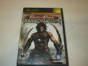 Prince of Persia  Warrior Within Original Xbox  Very Good Condtion With Manual
