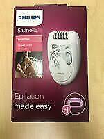 Philips Satinelle Electric Epilator - White new