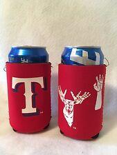 MLB Texas Rangers Can Holder/Koozies 2 Pack