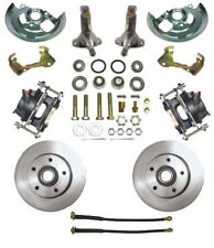 """64-72 Chevy Chevelle MBM Front 11"""" Disc Brake Conversion Kit w/ Stock Spindles"""