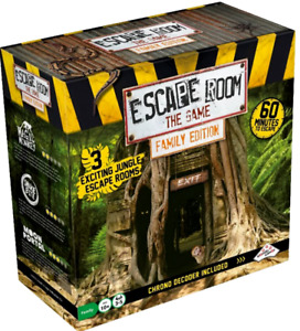 Escape Room the Game Family Edition Jungle NEW - FREE POST