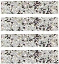 10 Stk. Terrazzo-Sockelleisten LINDA.neu 30 x 7,5 x 1,2cm Fußleiste Treppe