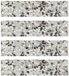 30 Stk. Terrazzo-Sockelleisten LINDA.neu 30 x 7,5 x 1,2cm Terrazzofliesen