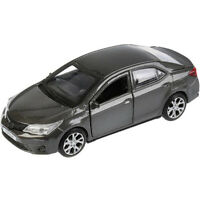 Toyota Corolla Grey Diecast Metal Model Car Toy Die-cast Cars