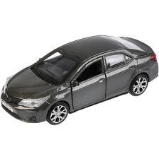 Toyota Corolla Grey Diecast Metal Model Car Toy Die-cast Cars