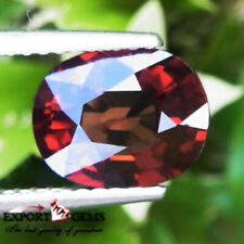 UNHEATED 2.62 CT NATURAL ORANGE RED OVAL SPINEL MOGOK