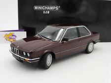 "Minichamps 155026007 # BMW 323i Limousine Bj. 1982 "" dunkelrot-metallic "" 1:18"