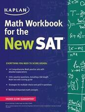 Kaplan Math Workbook for the NEW Sat- BRAND NEW