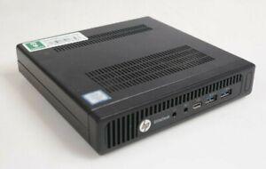 HP EliteDesk 800 G2 DM Mini PC Intel i5-6600 3.30GHz 4GB DDR4 WIN10COA No HDD