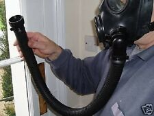 BRITISH ARMY LATEX/RUBBER AIR TUBE / HOSE / PIPE FITS S10 S6 FM12 ETC GAS MASK