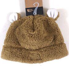 The North Face Toddler Teddy Bear Beanie British Khaki Size 3T NF0A3SIRD9V-3T