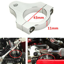 "1.7"" Aluminum Fork Frame Mounting Clamp Motorcycle Steering Damper Braket Holder"