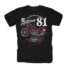 Hells Angels  81 AC/AB World Eightyone Big Red Machine Harley MC 1% S-XXXL