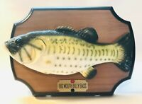 BIG MOUTH BILLY BASS 1999 Gemmy The Singing Sensation FIsh
