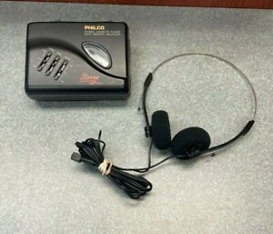 Philco 400K Stereo Cassette Player with Graphic Equalizer & Headphones - TESTED!