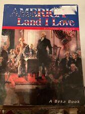 Abeka 8th grade America Land I Love History textbook