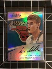 2017-18 Absolute Lauri Markkanen RC On Card Auto Bulls 69/99!!!