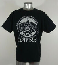 Diablo Blizzard Entertainment men's t-shirt black 2XL