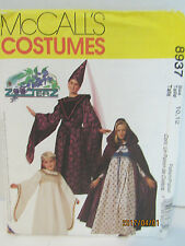 McCall'S Sewing Pattern Medieval Costume Sz 10,12 Girls