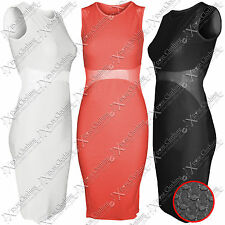Party Textured Sleeveless Dresses for Women
