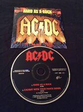 AC/DC HARD AS A ROCK CD 1995 AUSTRALIA PRESSING RARE ALBERT 8824702 EMI OOP
