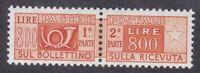 Italy 1966 Parcel Post - 800L Orange - SG P927 - MNH (D36H)