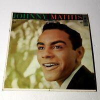 Johnny Mathis: Columbia 1956 Vinyl LP Album (Pop)