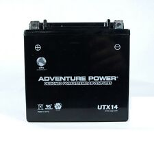 YTX14-BS Motorcycle Battery Honda Suzuki Yamaha Kawasaki Triumph V Rod VRCS NEW