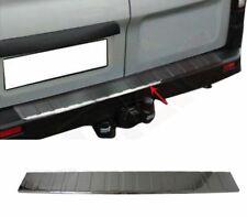 2015Up Renault Trafic Chrome Rear Bumper Protector Scratch Guard S.Steel (BLACK)